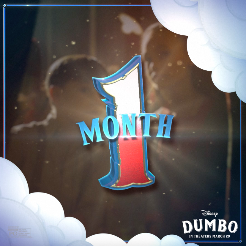 RT @Dumbo: Prepare to be amazed: #Dumbo lands March 29. https://t.co/OGp5HJzrIX