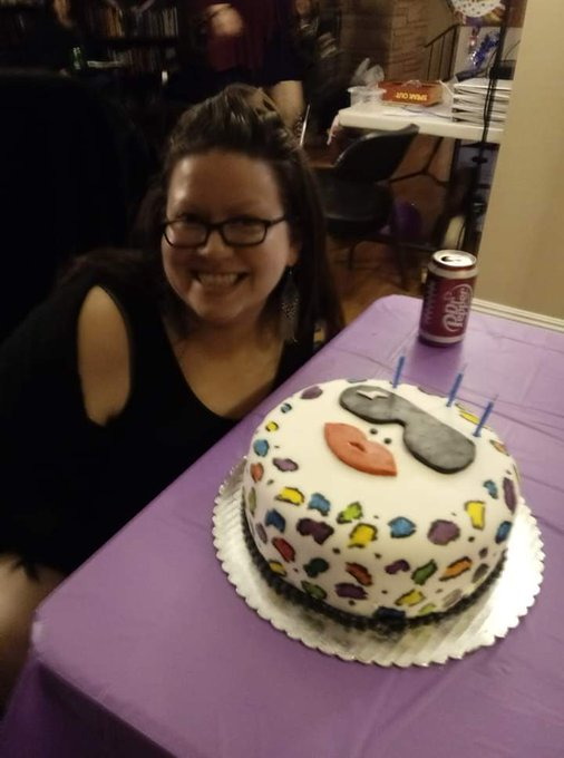 Happy birthday to meee with a fancy lady gaga cake... Gaga\s b day is coming up too!