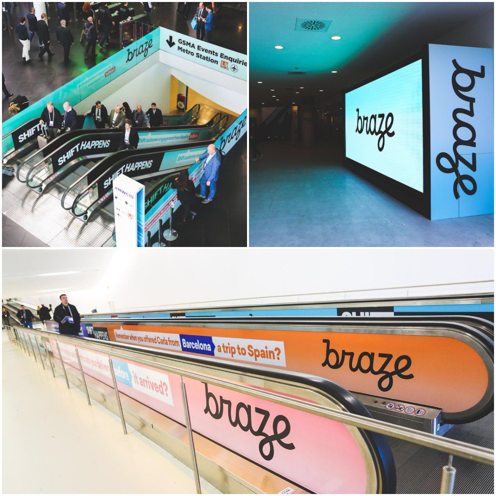 RT @dave_t3ch: Pics from the @Braze takeover in Barcelona this week at Mobile World Congress! 📸 #marketing #MWC19 #MobileWorldCongress2019 https://t.co/BrKmTXf1zm