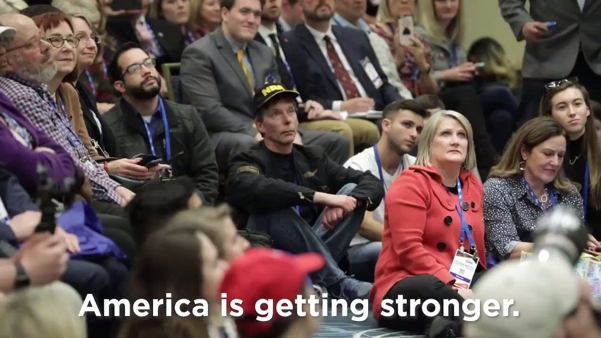 The United States is the greatest country on earth, and we should not apologize for that. Can't wait to be back at @CPAC tomorrow morning and share the stage with @DonaldJTrumpJr, @SenHawleyPress, and @amber_athey. #CPAC2020