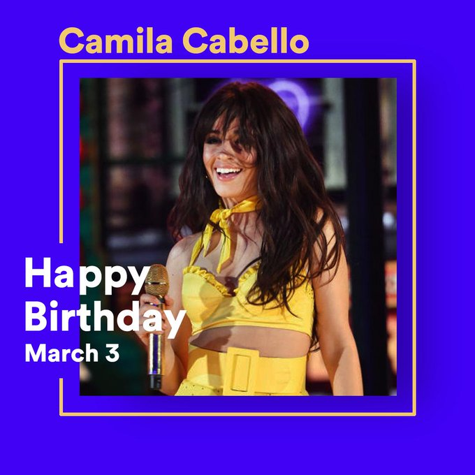 """Havana, ooh na-na!\"" Happy Birthday to the fabulous What is your favorite track from her?"