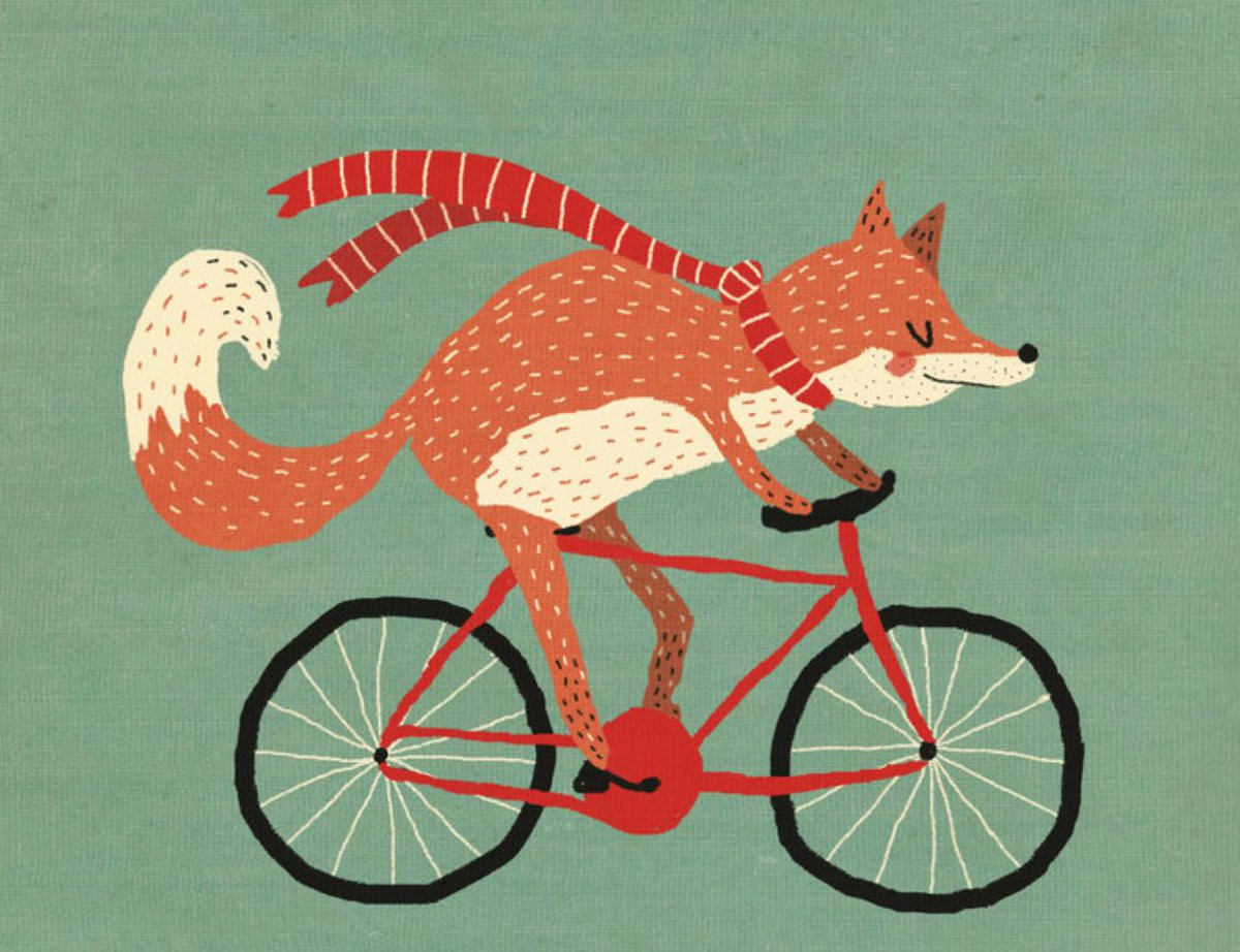 This fox bicyclist needs a voice actor.  Script here: https://t.co/rv1l8fPjmt https://t.co/3VymqLtRR3