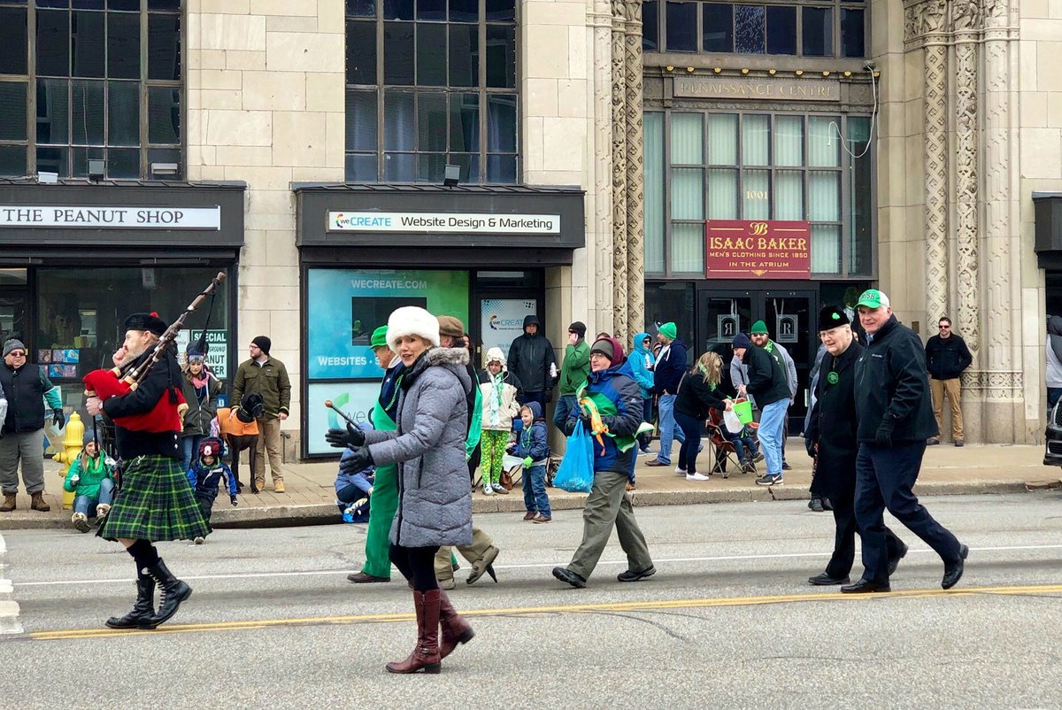 It was a great day in Erie for the 42nd Annual St. Patrick's Day Parade.
