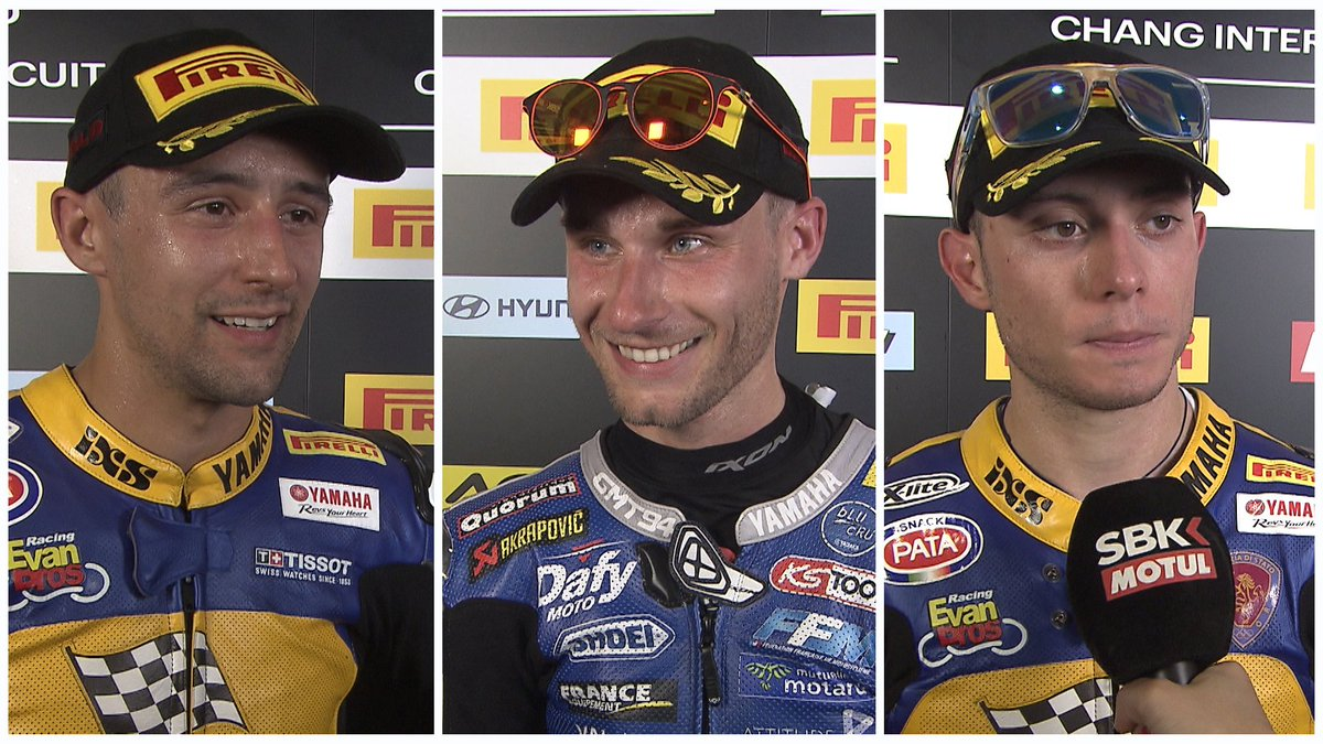 test Twitter Media - Hear from the stars⭐️ of #WorldSSP  #THAWorldSBK 🇹🇭  🎙INTERVIEWS | #WorldSSP https://t.co/4YiALQORrd https://t.co/YxzN1ejHr5