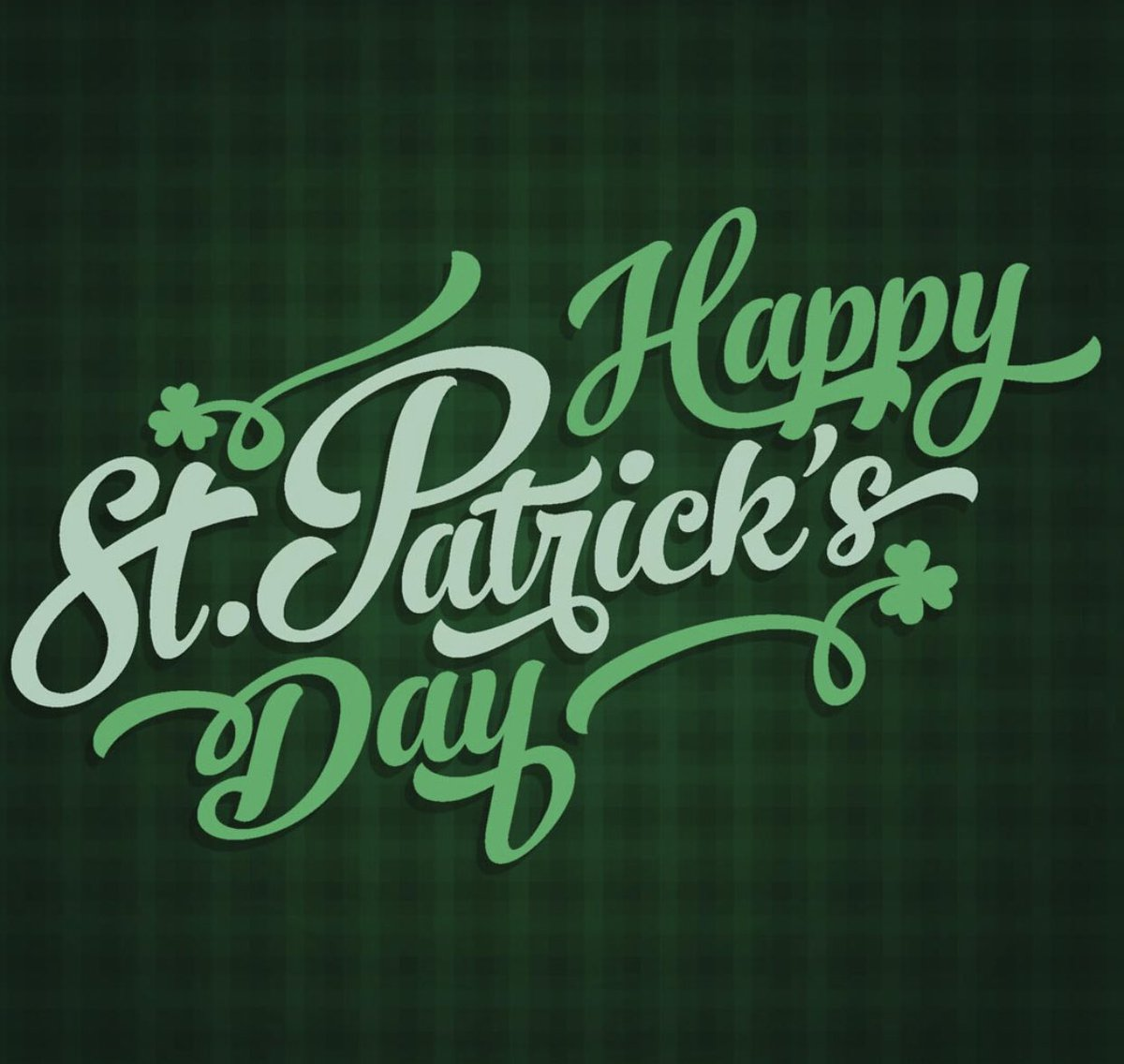 May the luck of the Irish be with you!