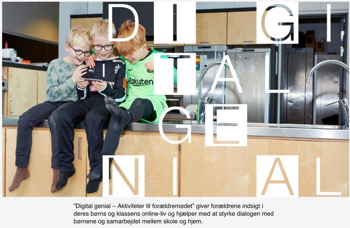test Twitter Media - Så er DIGITAL GENIAL i luften. Nyt materiale til brug på forældremøder, når de 7-12 åriges digitale trivsel skal i fokus. En online værktøjskasse med debatoplæg, øvelser mm. Bag materialet står Medierådet for Børn og Unge @redbarnetdk og @CFDPs https://t.co/PQjC9hOCfq #skolechat https://t.co/VDyFV1x27b