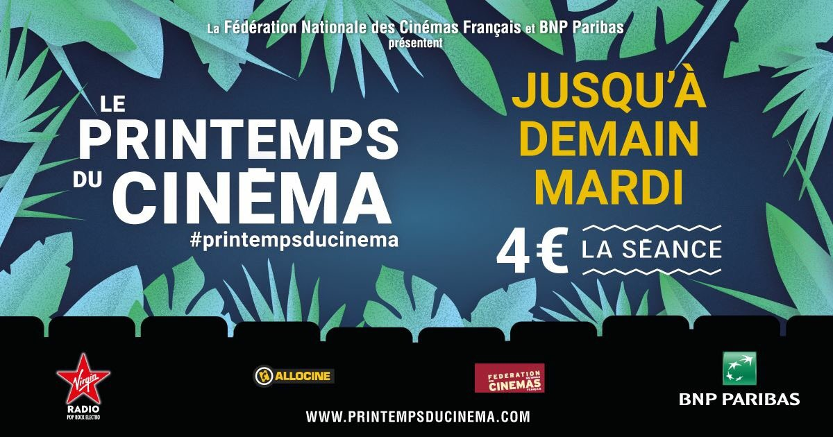 Tweet de CINEMA MAJESTICDOUAI @MAJESTICDOUAI – 2019-03-18 10:37:52