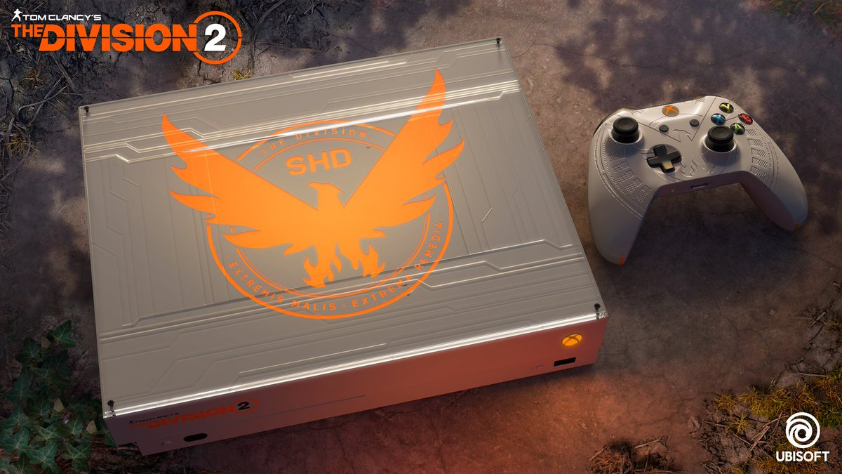 RT @XboxFR: Agents ! 🎮  RT + FOLLOW pour tenter de gagner une Xbox One X collector #TheDivision2 ! https://t.co/nrUHL1XpO2