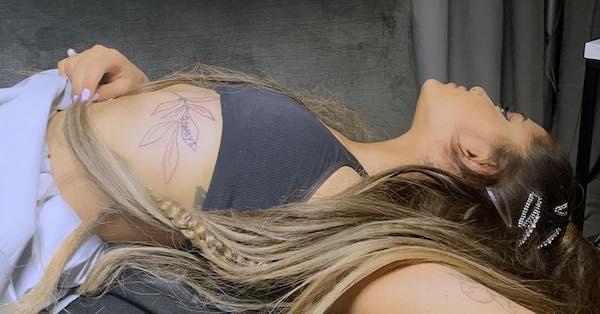 "Ariana Grande has updated her Pete Davidson ""always"" tattoo because she's ""evolvin.'"""