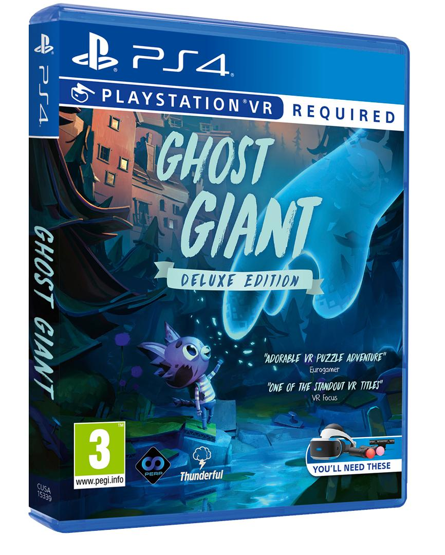 The stunning Ghost Giant is coming to market on April 19th! Get your first look at the Deluxe Edition box which will include lots of digital goodies, including postcards, music, and an artbook! Pre-Orders OPEN SOON on the Perp Games Store, along with a surprise or two :) https://t.co/I58LxygmTT