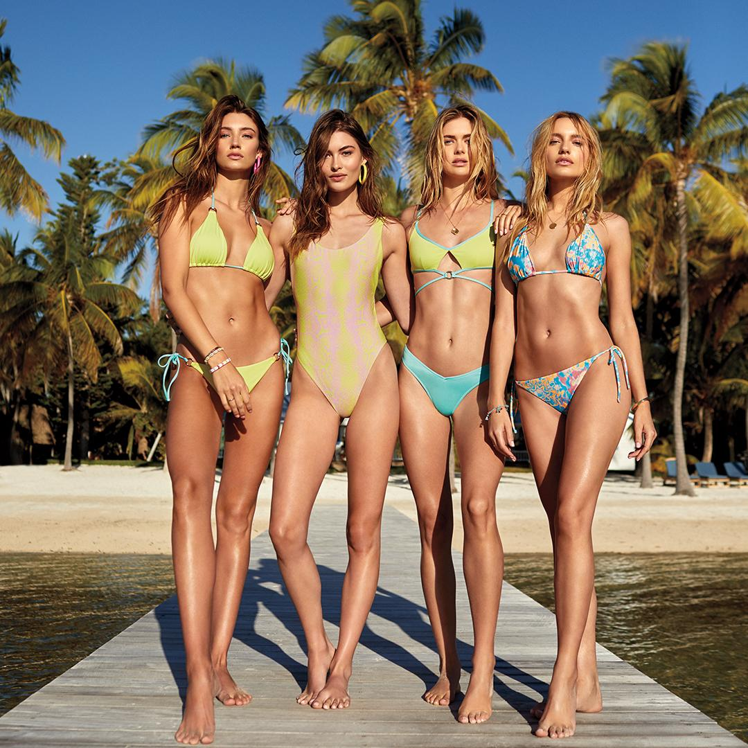 It's here. It's now. It's back. ???????? It's #VSswim. Shop it RIGHT NOW, online only. https://t.co/nenpxOE3Jb https://t.co/YFSbkugdbW
