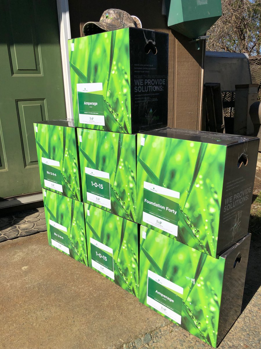 RT @matthewjcarver9: It's been a busy morning here in the Carolinas. #deliveryday @AdvancedTurf @FoliarPak https://t.co/jJr8CntGE7