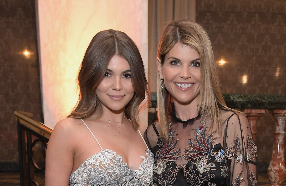 Lori Loughlin joked about paying for Olivia Jade's education in a resurfaced video: