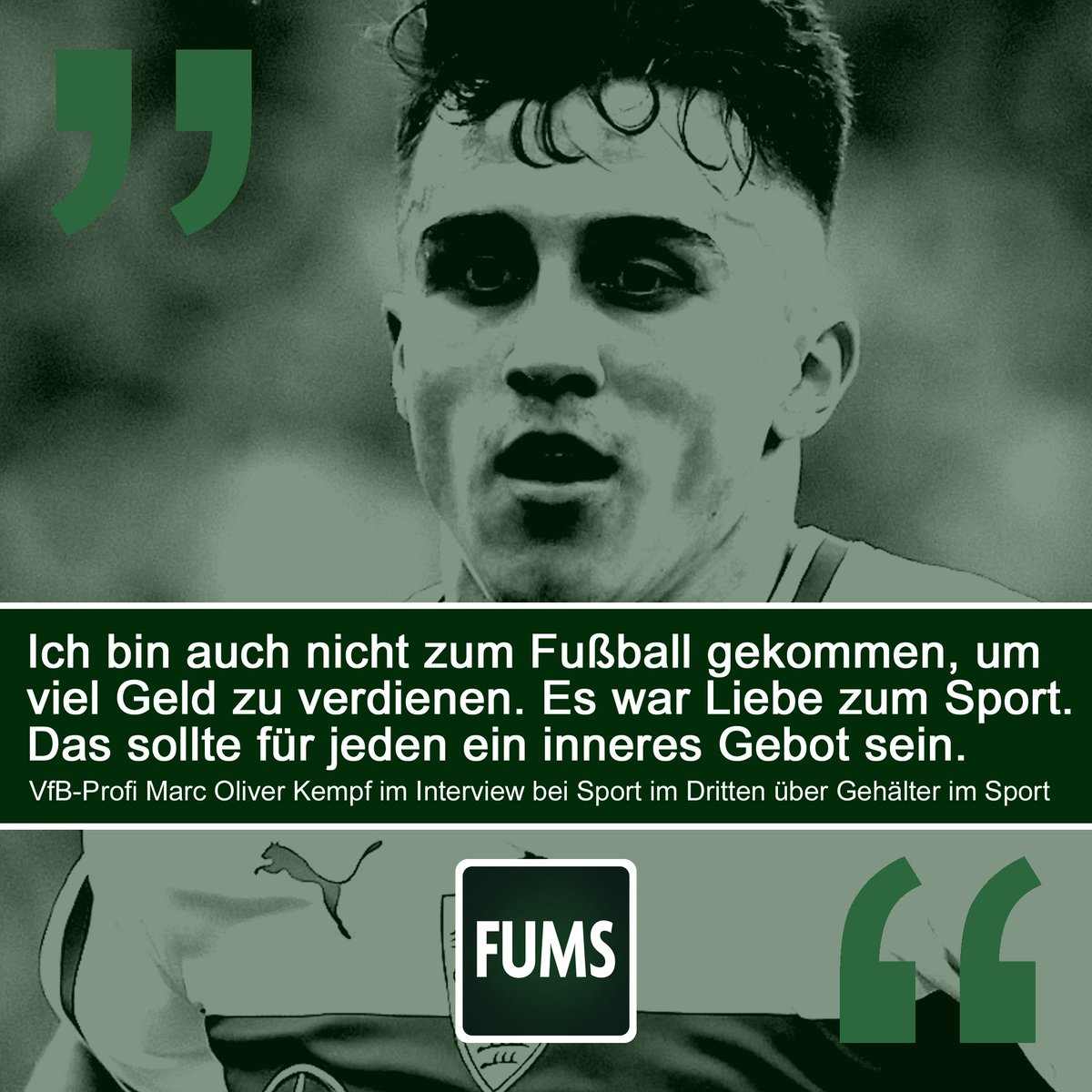 RT @fums_magazin: Liebe zum Sport ❤️ #Kempf #VfB   ___ Football is life: @fums_magazin https://t.co/O12YWUjr2u