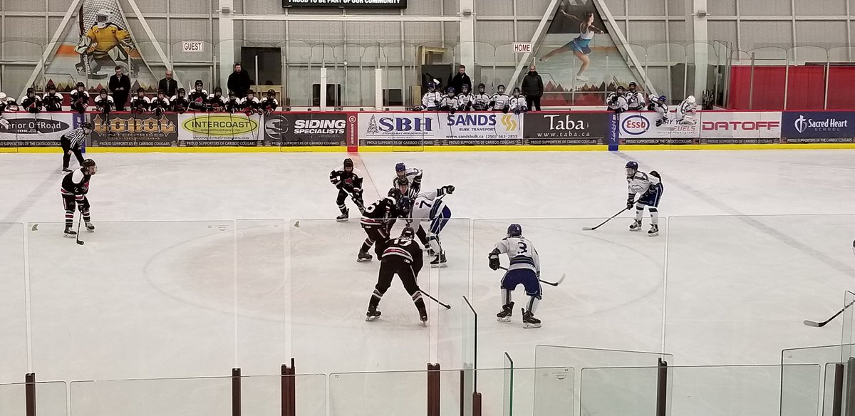 test Twitter Media - The puck has dropped to kick off @BCHockey_Source Bantam Tier 1 provincials @CityofPG. Game one has host @BantamNorth vs @NVMHABantamA1. https://t.co/o200iJsiOv