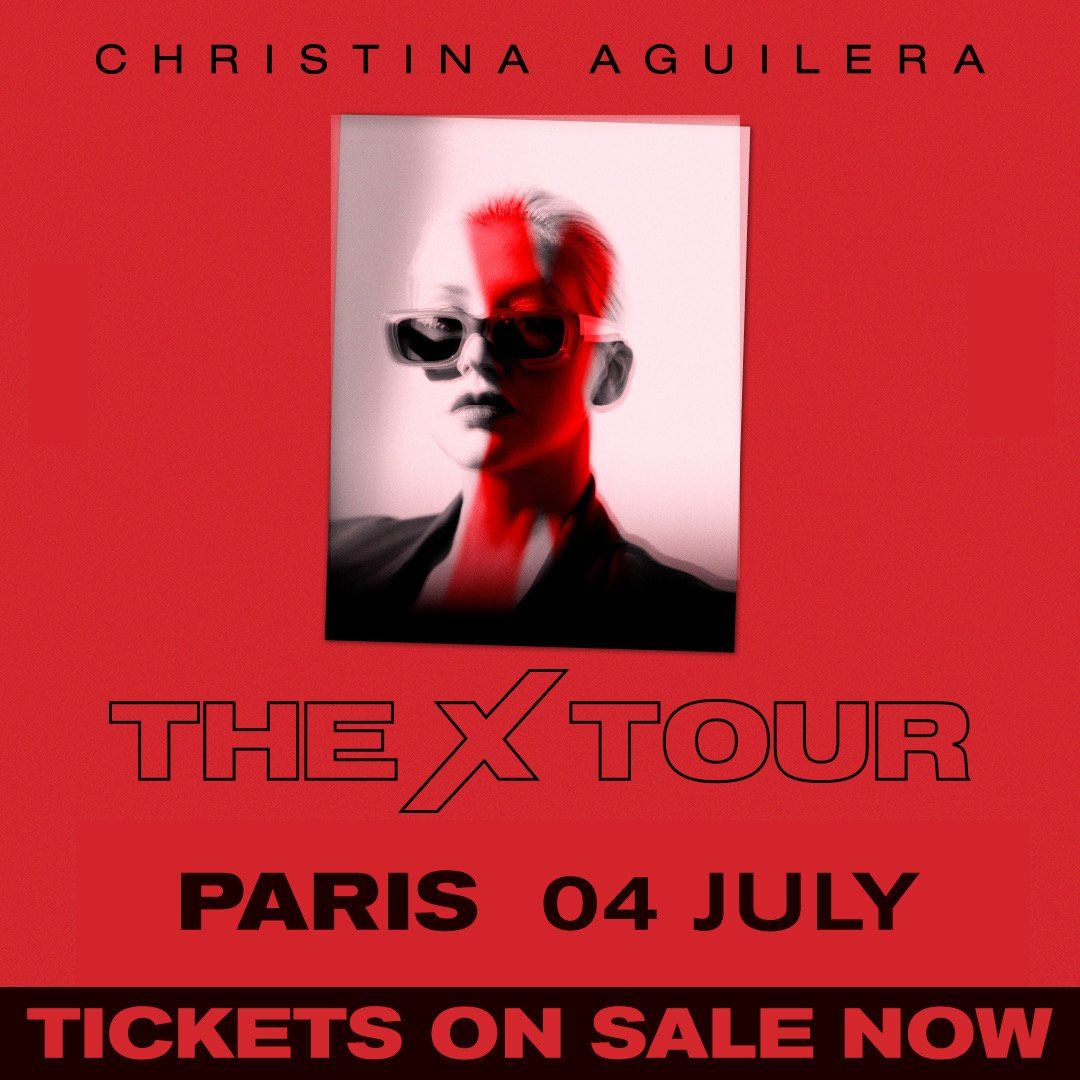 France— tickets for #TheXTour in Paris on the 4th of July are on sale now: https://t.co/zS3oUnB8qA ❣️???????? https://t.co/b1Rr0NCrCF