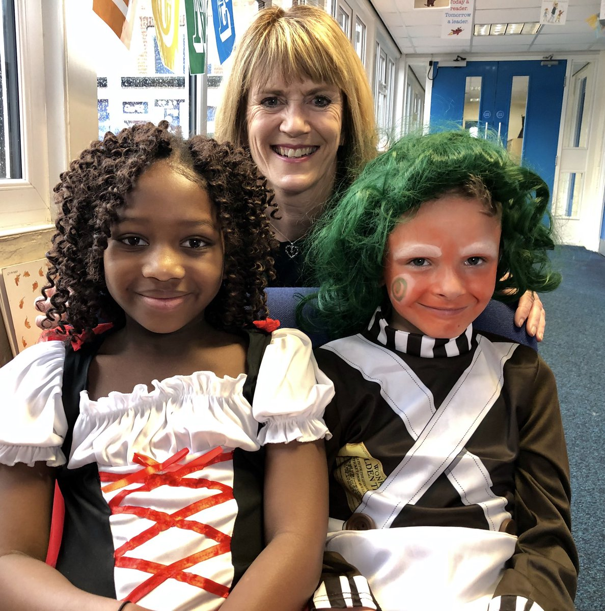test Twitter Media - It's #WorldBookDay2019 today and @katieoscroftitv is at @HartleyBrookPri tune into @itvcalendar to watch her report #fancydress #books #learning https://t.co/VrWkuvsK6S