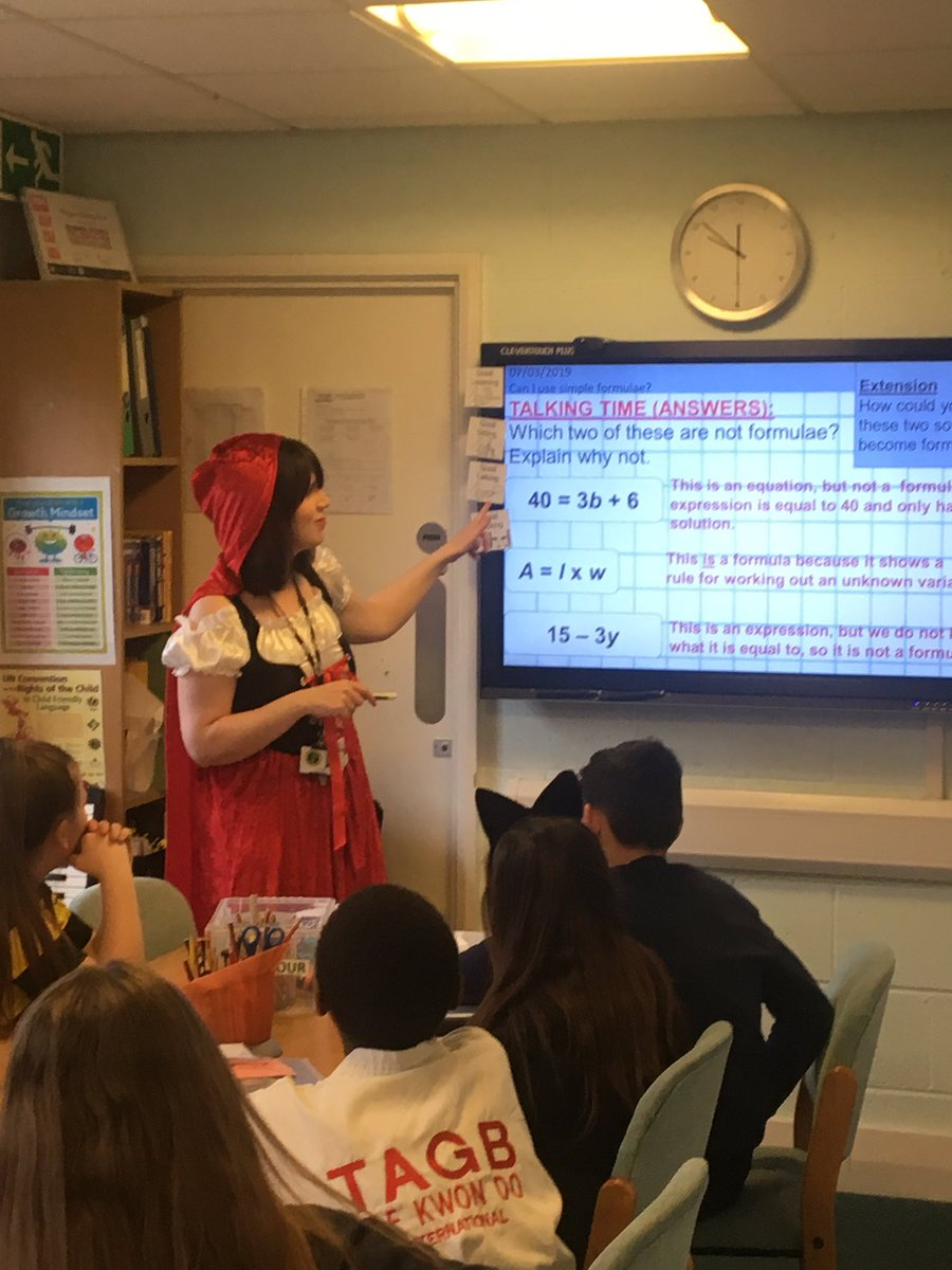 test Twitter Media - Red Riding Hood is teaching Y6 maths today #worldbookday https://t.co/zADkPYXJeW