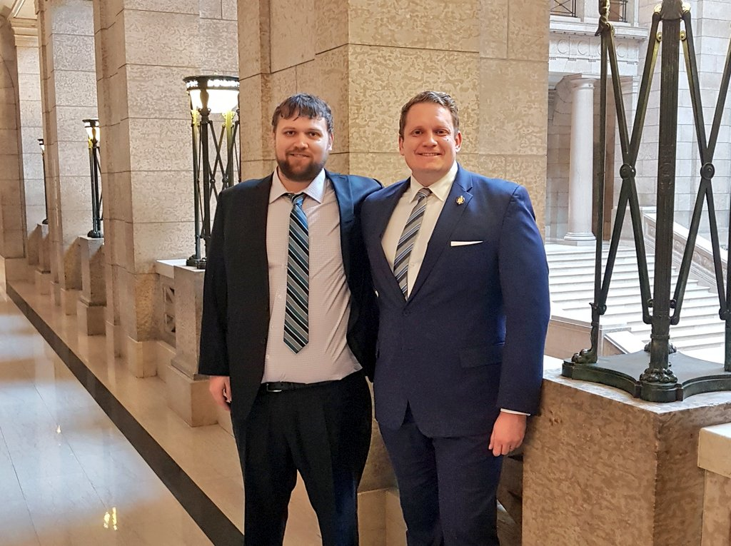 test Twitter Media - Budget Day in Manitoba! Proud to have my good friend and dairy farmer Brad Bazinet as my guest  Making progress to fix the finances, repair the services and rebuild the economy for people across this province including producers  #mbbudget2019 #dairyfarmer #thankafarmer #mbpoli https://t.co/7GXd99uavd