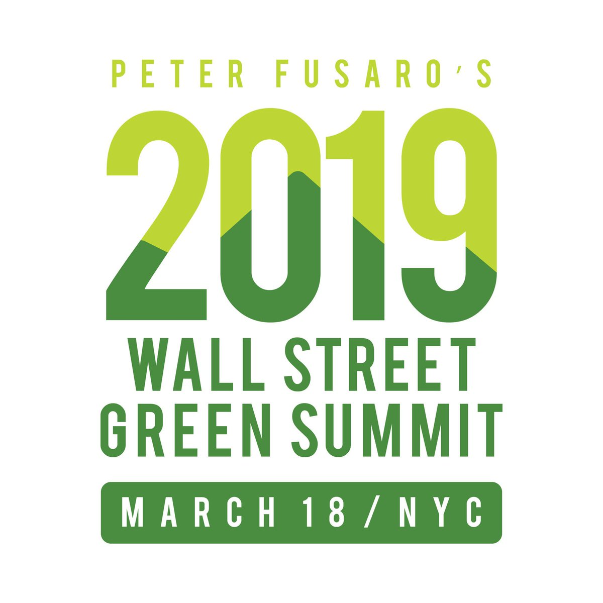 "test Twitter Media - 11 days until the 2019 Wall Street Green Summit XVIII - the ""one-stop shop"" to get up to speed on the latest developments in Green Innovation & Finance - Register Now! @fusarotweets #wallstreetgreensummit #greennewdeal #sustainablefinance #impactinvesting https://t.co/NVKuVHZIsw https://t.co/j1LX9QcRpq"