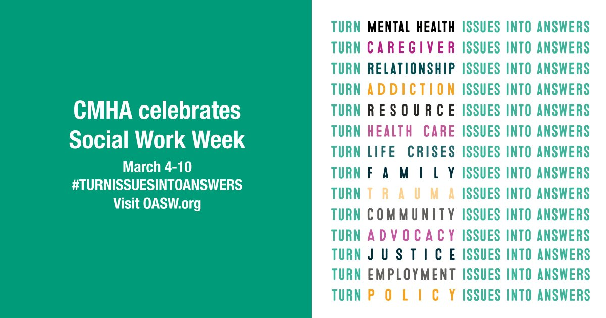 """test Twitter Media - """"Social workers have the ability to anticipate, address and facilitate practical solutions for (costly and important) societal issues."""" - @ON_SocialWork They turn #justice issues into answers. https://t.co/2d7N5xzH1z"""