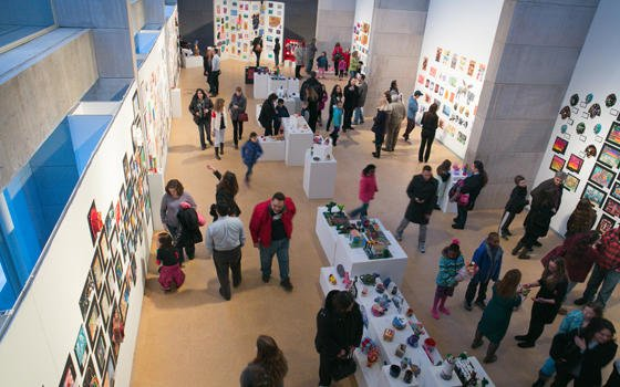 test Twitter Media - 🖌️The opening reception for the 38th @MiddletownPS Art Exhibition will be tomorrow from 5-7 p.m. in the Zilkha Gallery. Only on display until March 17, this @WesCFAexhibition is an important part of supporting the local community #CardinalPride #SupportTheArts #FundtheArts 🎨 https://t.co/z95DLD7uIo