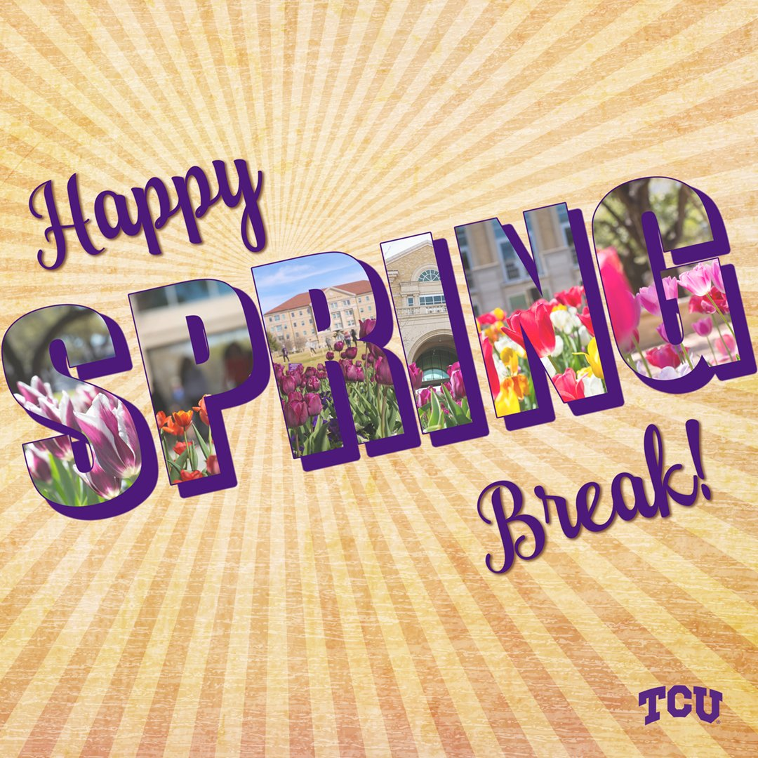 Wishing all our students a fun and safe spring break! https://t.co/mBgdYPLAhv