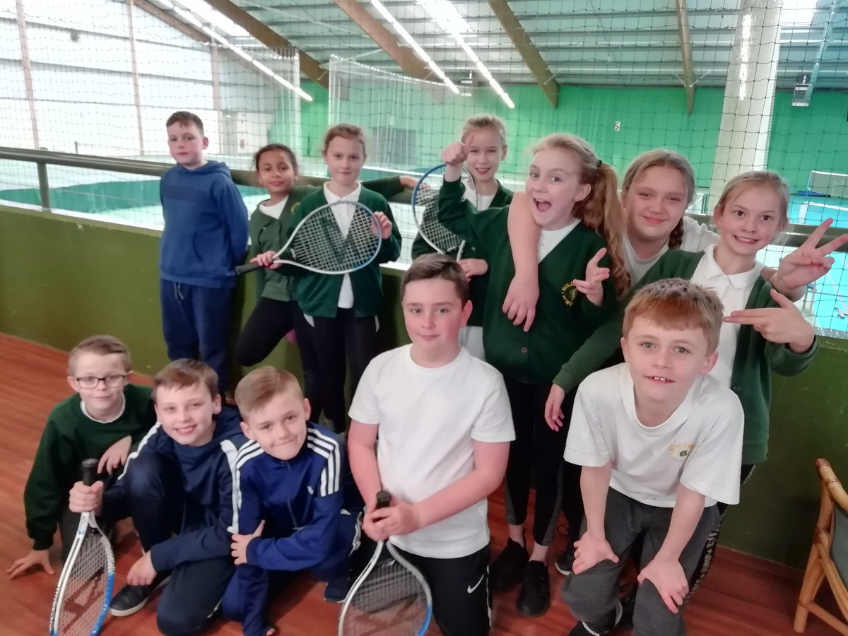 test Twitter Media - On Tuesday Hollywood participated in a @KingsHeathSP  tennis competition. Some children were representing school for the first time. All had fun and played well. We got a 4th in y3/4 and 3rd in y5/6. Well done. https://t.co/MulOe3gnVV