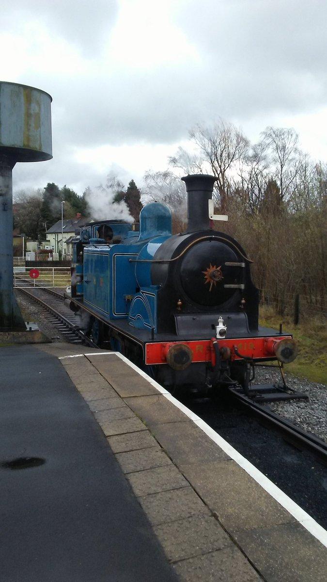 test Twitter Media - RT @LTsteamfan: Caledonian Railway no. 419 from @bonessrailway, at Heywood @eastlancsrly. https://t.co/NEJfgTKpDr