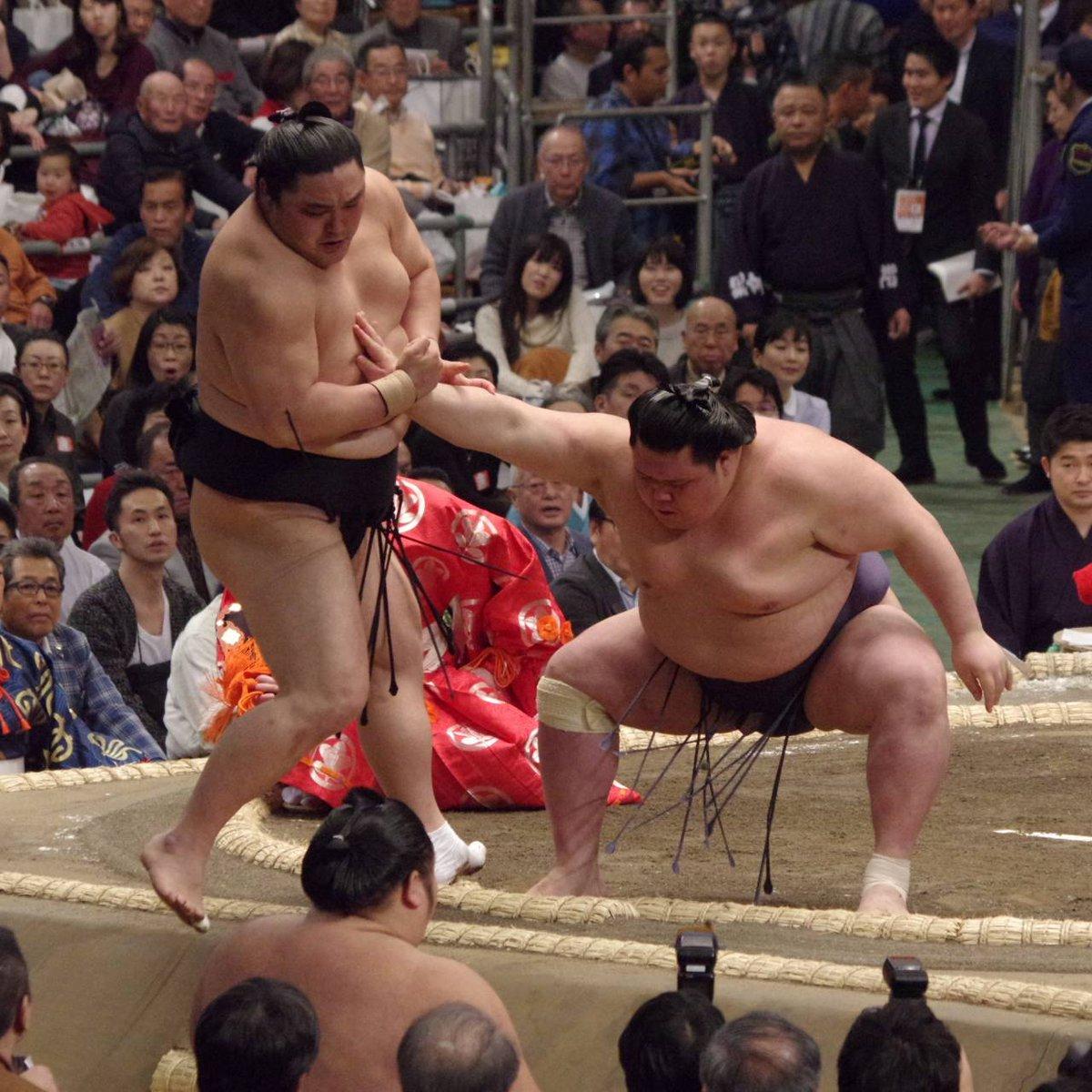 test ツイッターメディア - <初日の様子> 幕内取組。 阿武咲 押し出し 隠岐の海。 逸ノ城 突き落とし 千代大龍。 栃煌山 肩透かし 正代。#sumo #相撲 https://t.co/WommdWhVie