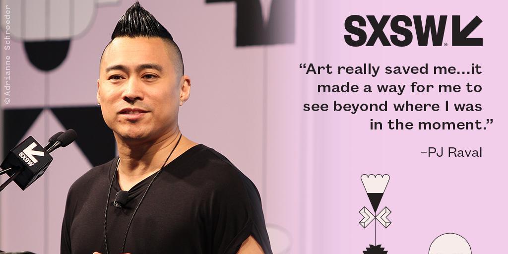 Award-winning filmmaker @pjraval delivering a Film Keynote at #SXSW 2019. https://t.co/1Z0LPHRxxr