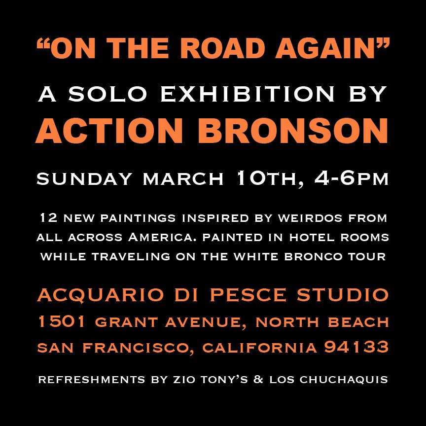 IM HAVING MY FIRST EVER ART SHOW IN SF TODAY. PULL UPPPPP. JUST PULLL THE FUCK UP. https://t.co/RrPRA1DdB2