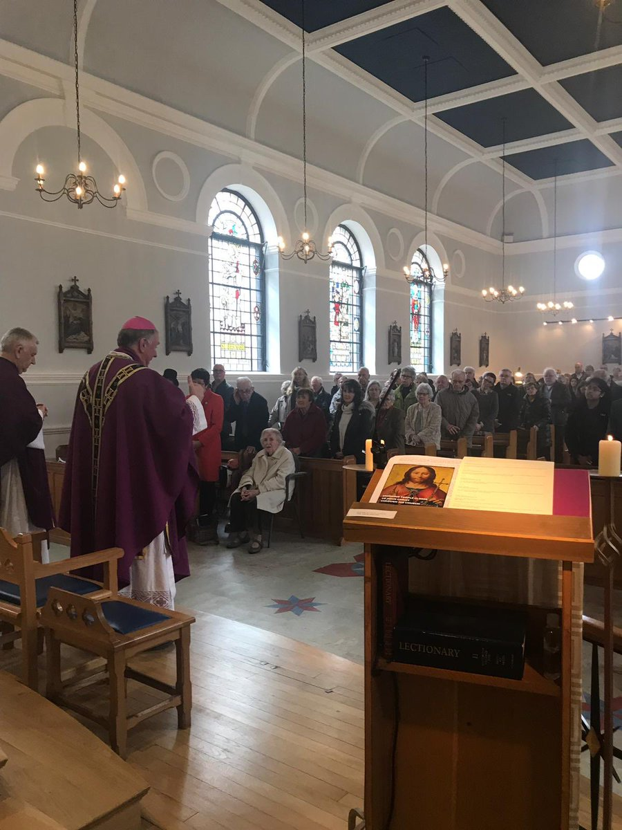 test Twitter Media - On Visitation today to the parish of Our Lady Immaculate under the care of Fr Andrew Moore. Two packed Masses in a beautiful church in the middle of the shops! https://t.co/ZPc32sFcBy