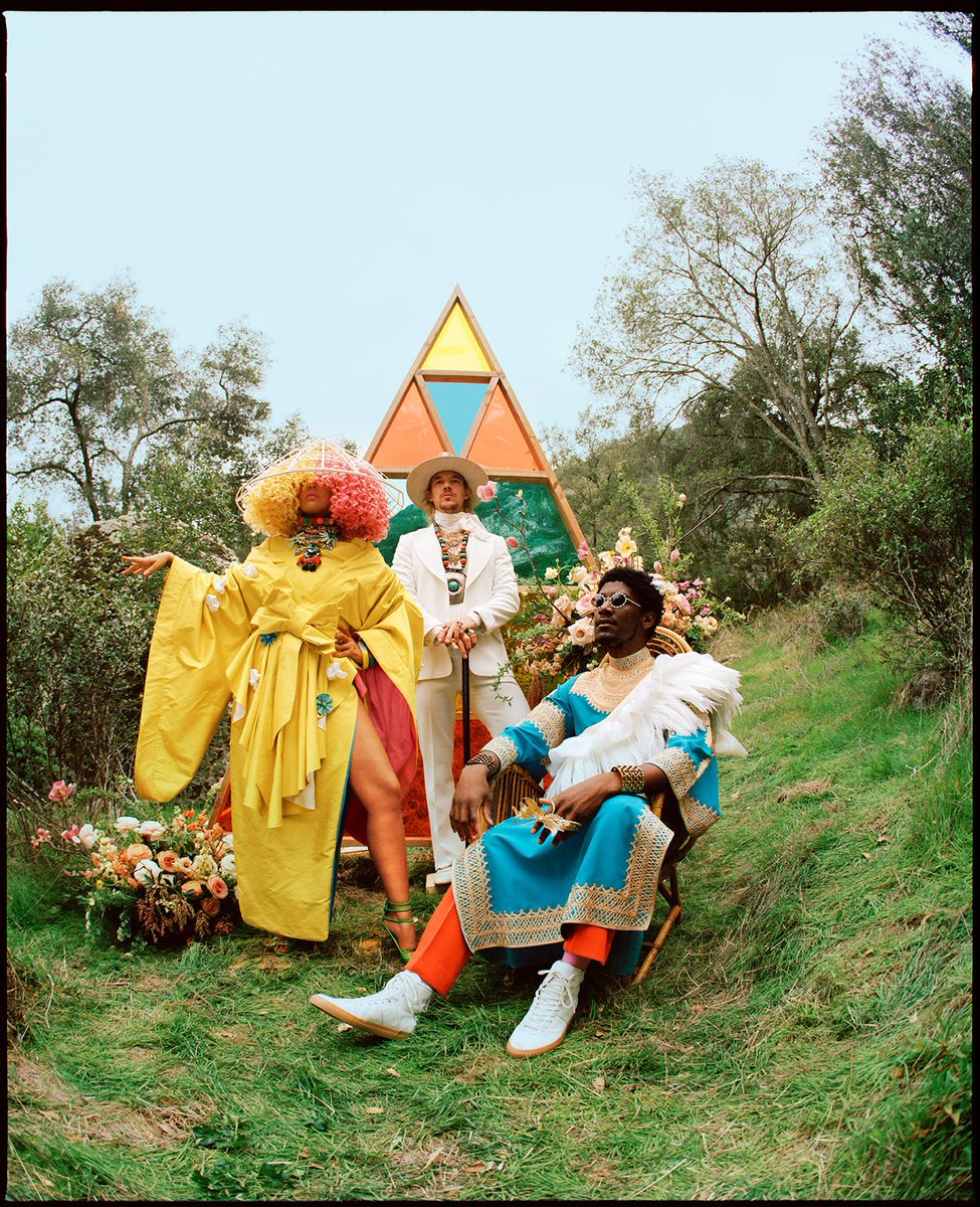 .@labrinth, Sia and @diplo present… #LSD. Album out 4/12 ???? - Team Sia https://t.co/kFP9CVO4lL