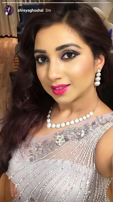 Happy Birthday Shreya Ghoshal ! God Bless You Mam! You are an inspiration to us and all:)