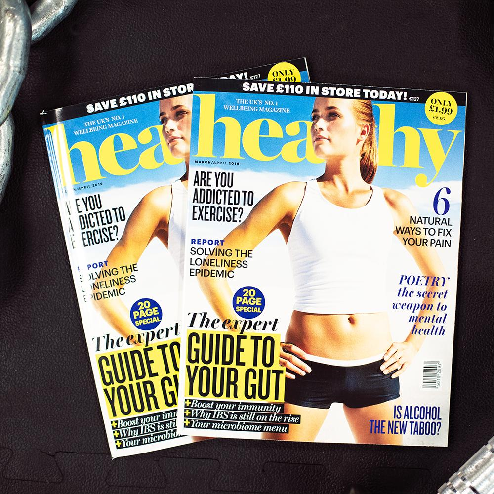 The latest edition of @healthymag has arrived 🙌💪 Have you picked up your copy yet? 👀 https://t.co/k2vw2NeK1D