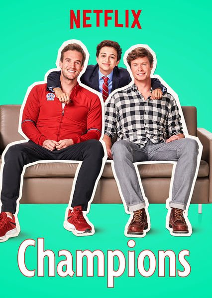 Just happened upon this incredibly funny show #Champions on @netflix. You must check it out ????????♀️ https://t.co/OdY0lYP9Kq