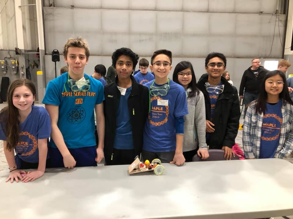 test Twitter Media - We are proud! Meet the Maple School Science Team second place winners of the Middle School Electric Car Competition! Coach R. Dombeck said they worked diligently and persevered, competing against 19 other middle school teams in the car race and design category! #d30learns https://t.co/Q7vi3blWBE