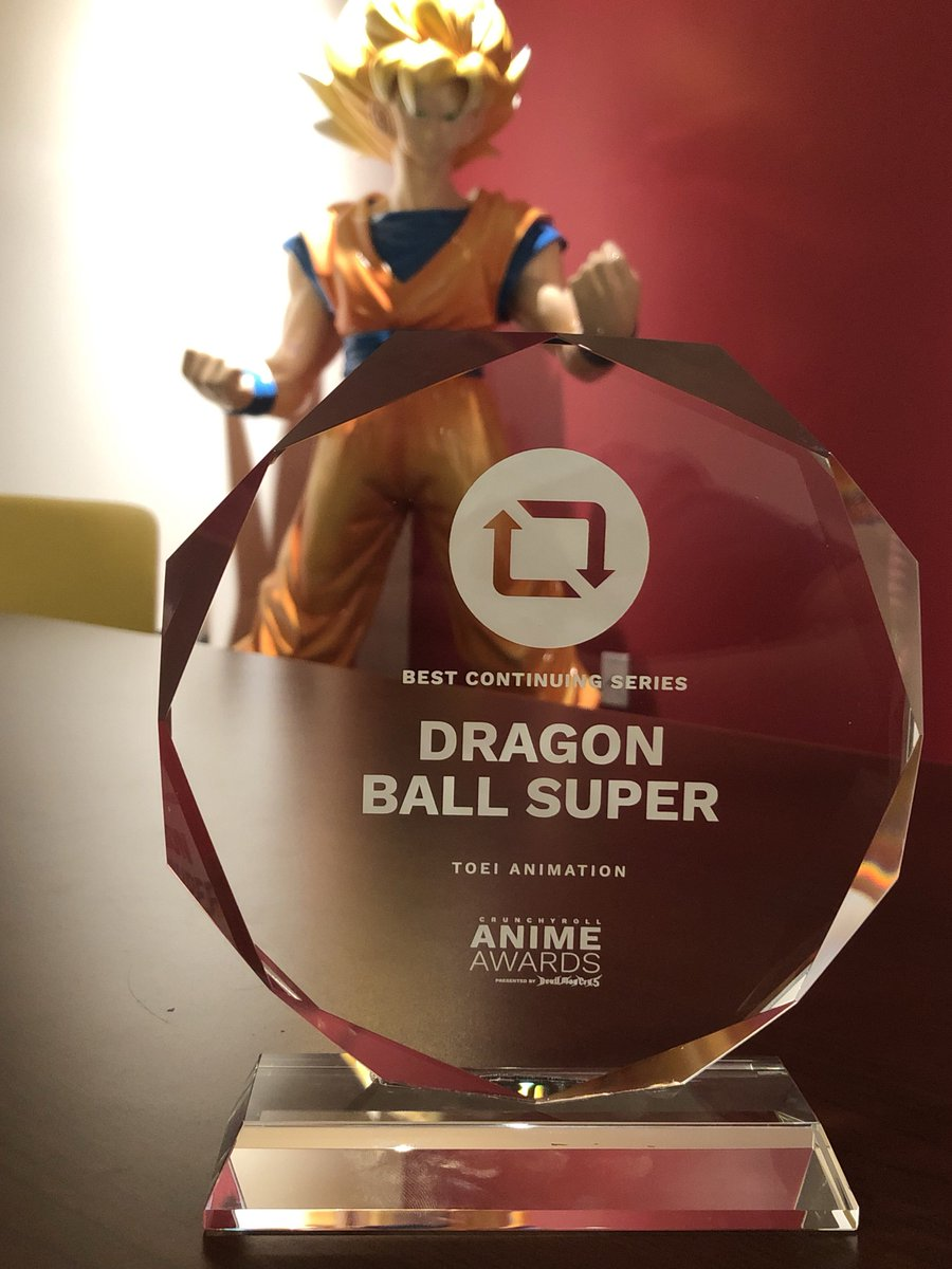 RT @ToeiAnimation: Look what we got in the mail today!!! 😱 Thank you to @Crunchyroll and the #AnimeAwards! 😍 https://t.co/Be2k3D4gfv