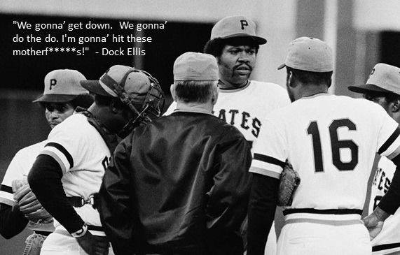 Happy Birthday to the late Dock Ellis.  In 1974 he deliberately drilled first 3 Reds batters and threw at the next 2 before being removed. During his only All-Star season, 1971, Dock went 19-9 for @Pirates, then posted 15-7 mark in '72. In '76 he was traded to @Yankees, went 17-8 https://t.co/9suBkHKTZQ