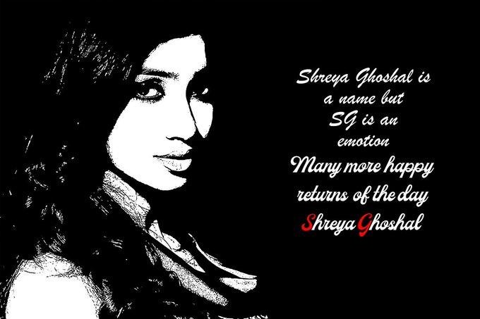 birthday Shreya Ghoshal