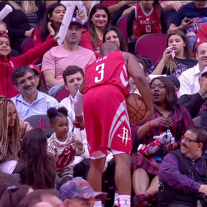 RT @NBATV: An assist @CP3 won't forget! ???? https://t.co/x1wn2wV9E0