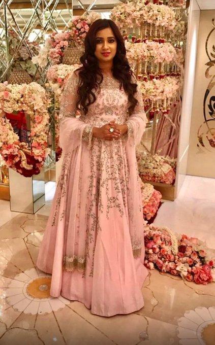Happy birthday Shreya Ghoshal queen of voice
