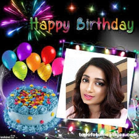 Happy Birthday Madam Shreya Ghoshal :-  from a Adorer.