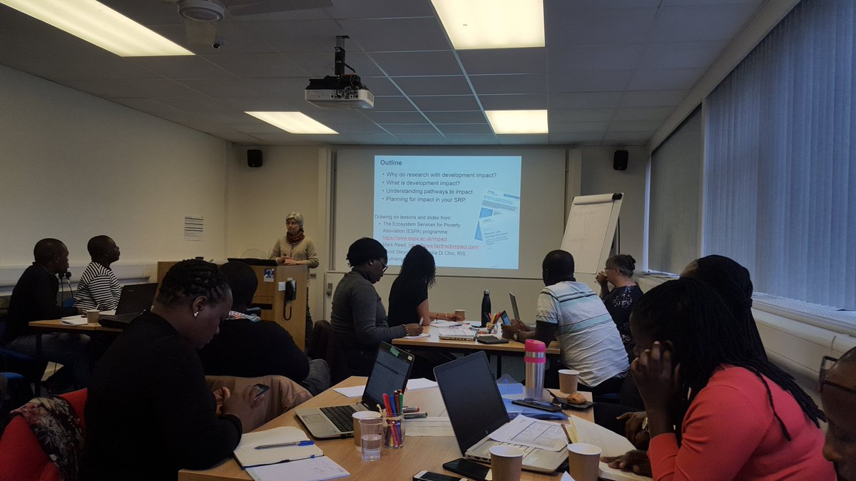 test Twitter Media - Intro to risk assessment with Jim Wright @geogsouthampton followed by a session on research for development impact with Kate Schreckenberg @KingsCollegeLon #research #exchange #training #Kenya #Malawi #Ghana #UK @unima_mw @TU_Kenya @MMUST_Kenya @UnivofGhana @WaterNet_ https://t.co/6nbEcqXmrb