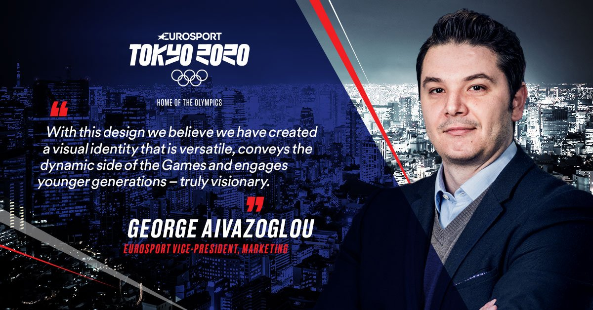 VP Marketing George Aivazoglou explains the inspiration behind Eurosport's visual identity for @Tokyo2020 https://t.co/vTRCD84TQt