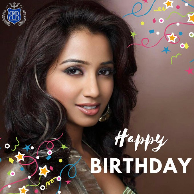 Happy birthday to the beautiful Shreya Ghoshal! We wish you all the best on your special day!