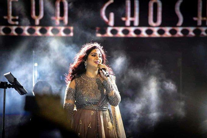Happy birthday my Bast singer Shreya Ghoshal Didi  I\m very happy