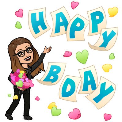 Happy birthday Hope you have a wonderful day!!!