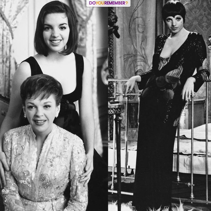 Happy 73rd Birthday to Liza Minnelli from all of us at DoYouRemember! Here she is with her mother, Judy Garland!